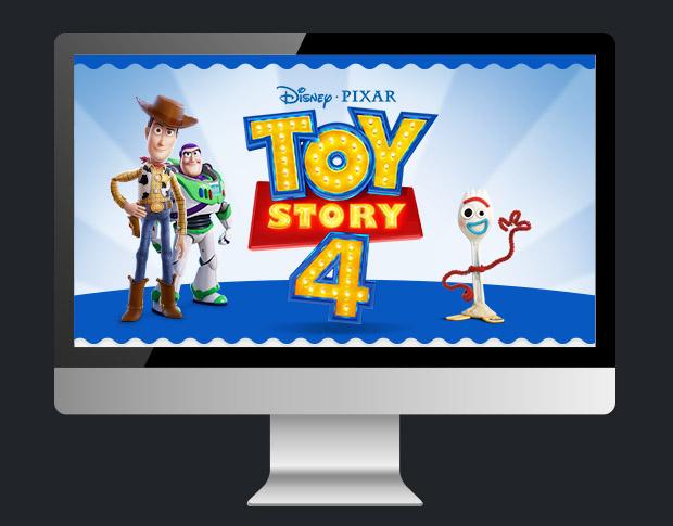 Дизайн промо-сайта для «Mattel Toy Story»